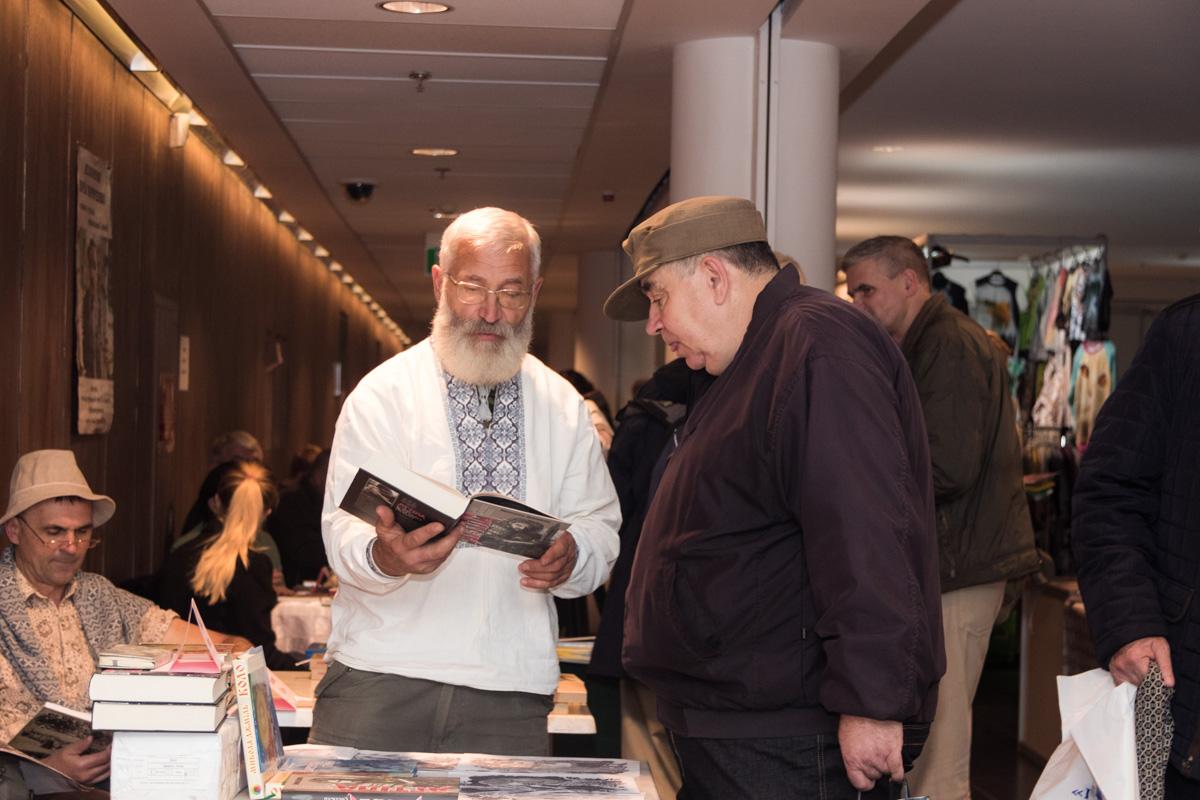 Участники выставки подготовили к открытию немало книжных новинок