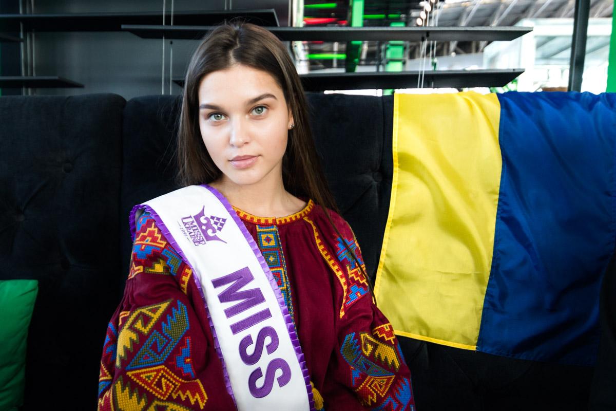 В Поднебесной девушка представит Украину на Мисс Мира