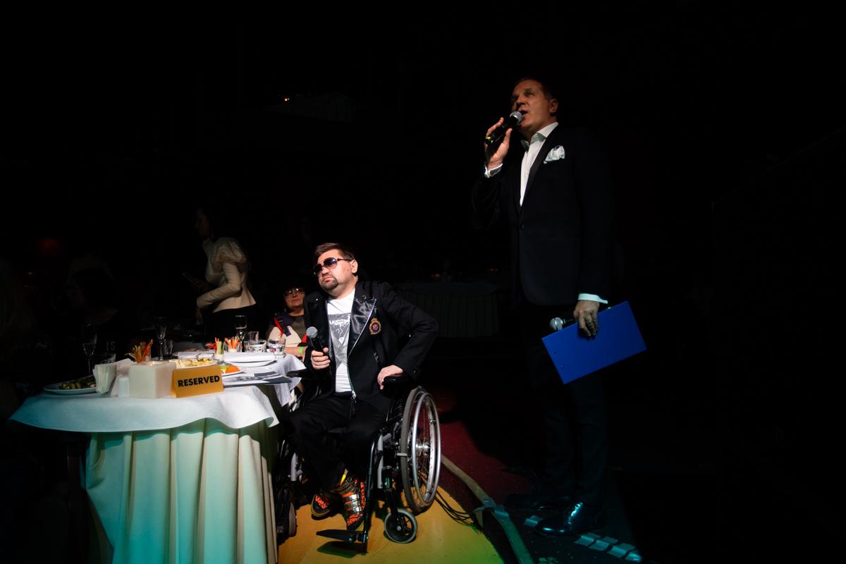 В этом году в Параде наций приняли участие люди с ограниченными возможностями