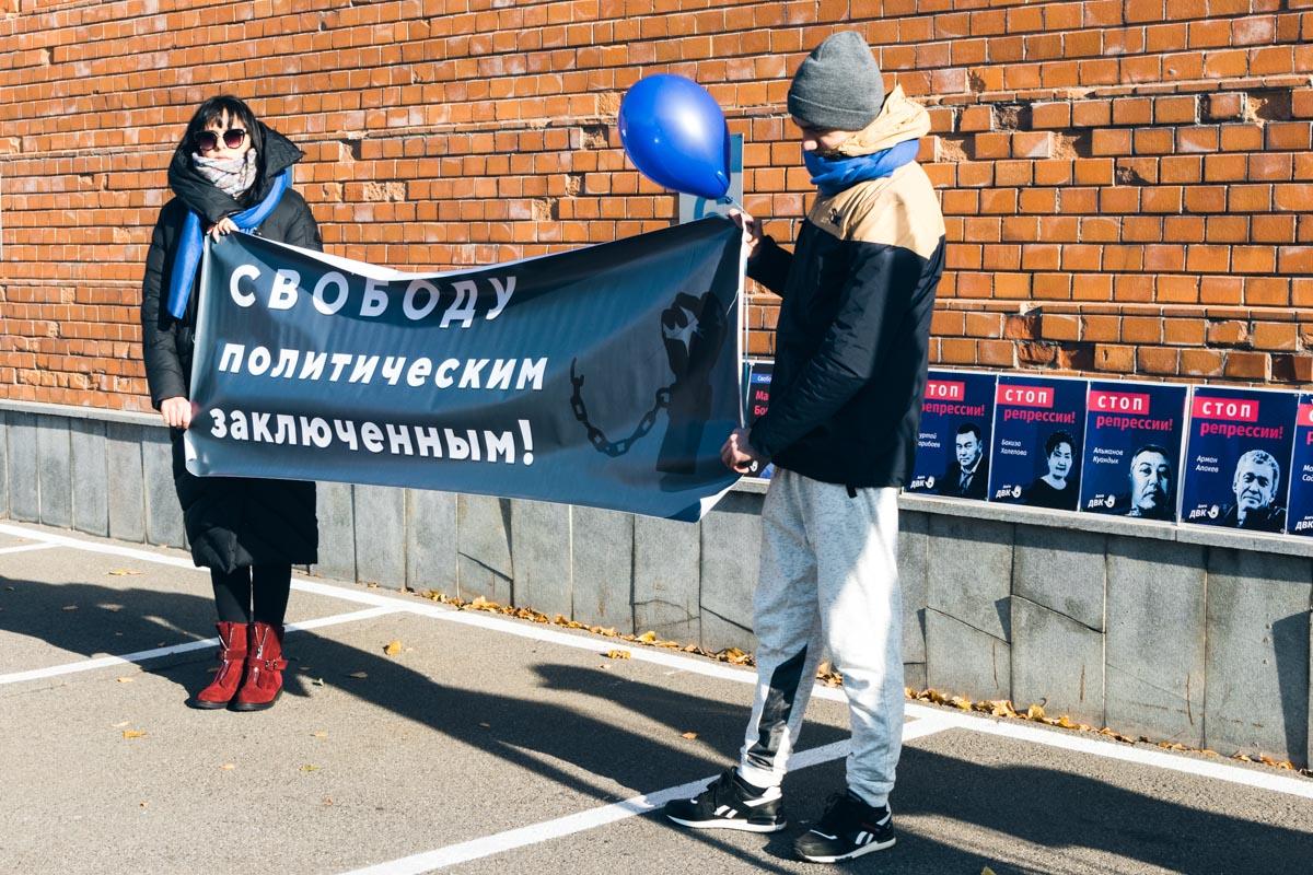 По словам активистов, авторитарный режим президента Казахстана Нурсултана Назарбаева не позволяет гражданам высказывать свое мнение