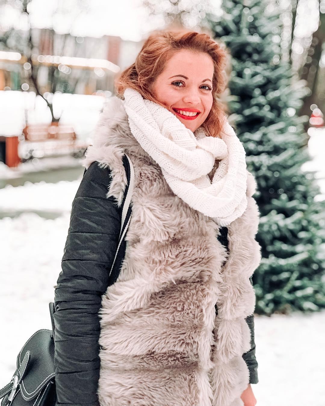 От улыбки... Фото: @caminskaya.sofia