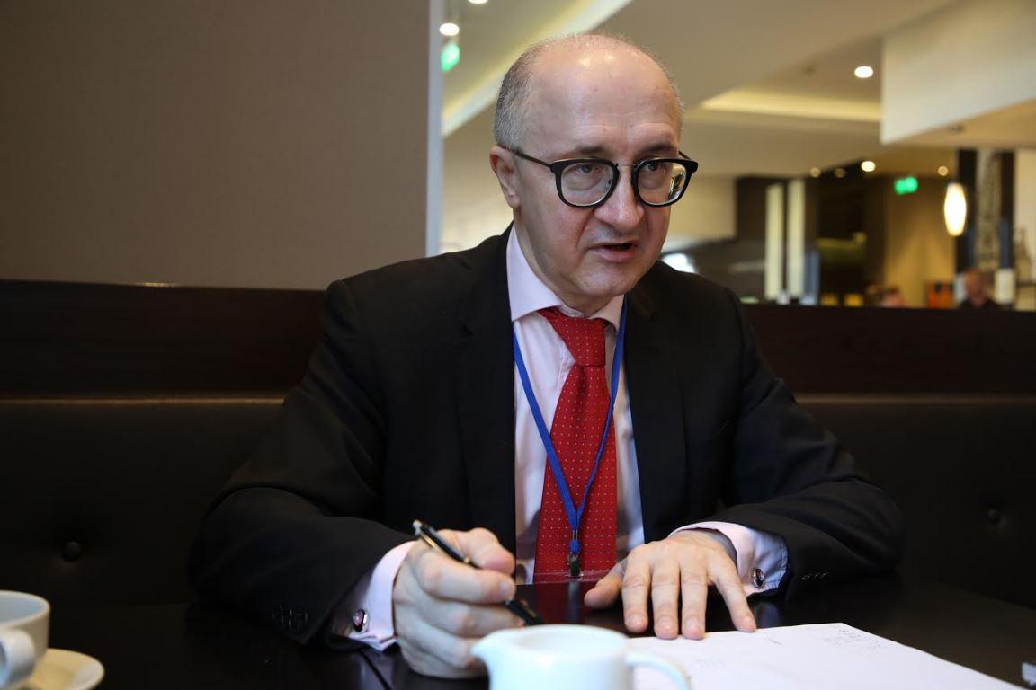 Глава Высшей квалификационной комиссии судей Украины Сергей Козьяков
