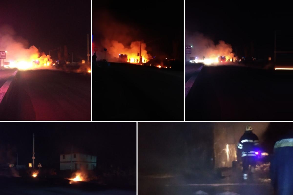В четверг, 8 ноября, под Киевом в Белогородке произошел пожар