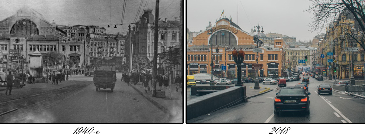Раньше вдоль бульвара ходил трамвай