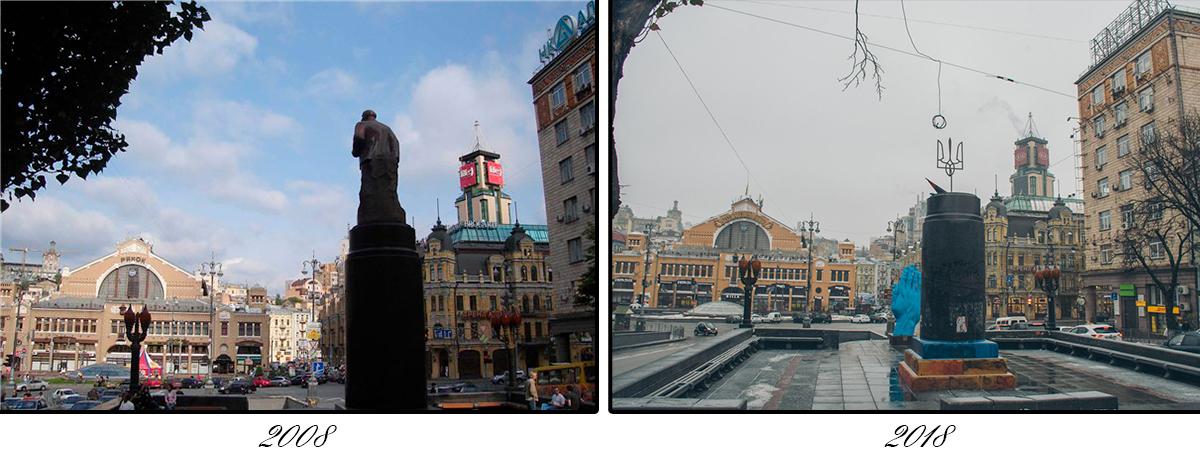 Бульвар Шевченко пережил много эпох