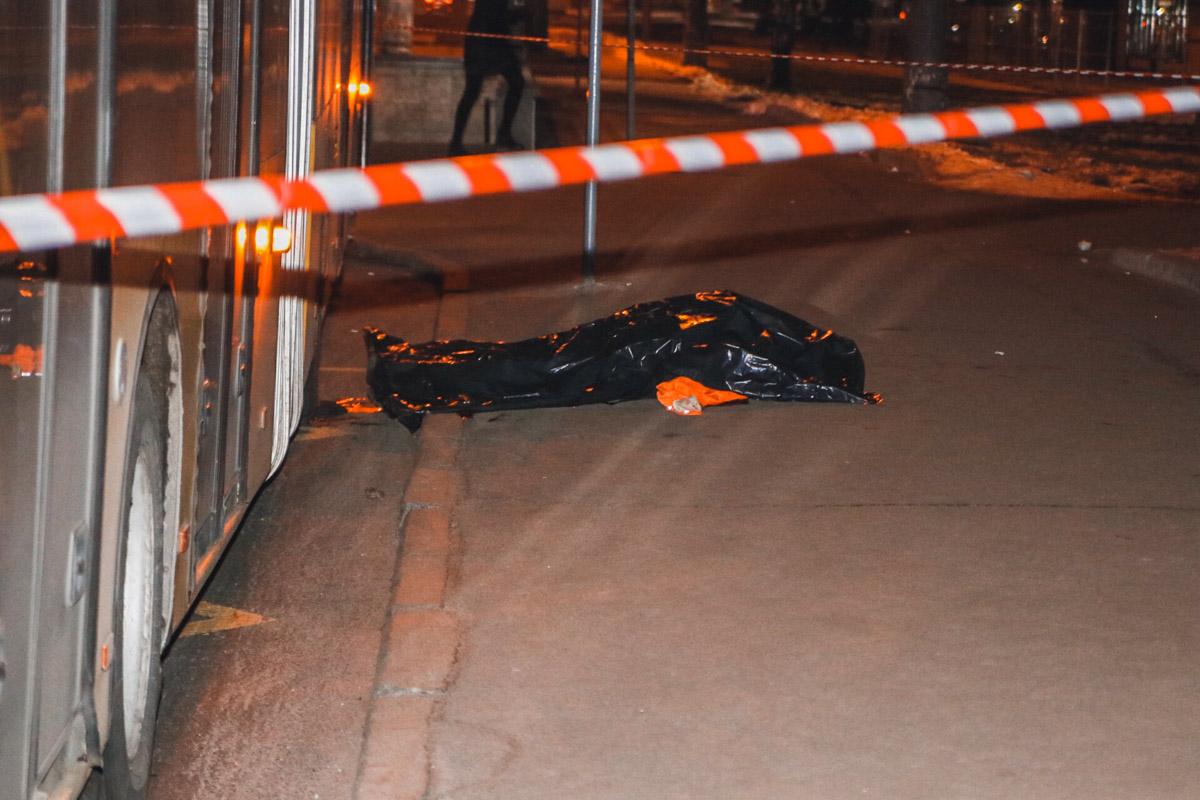 Погибший был водителем аварийного транспорта