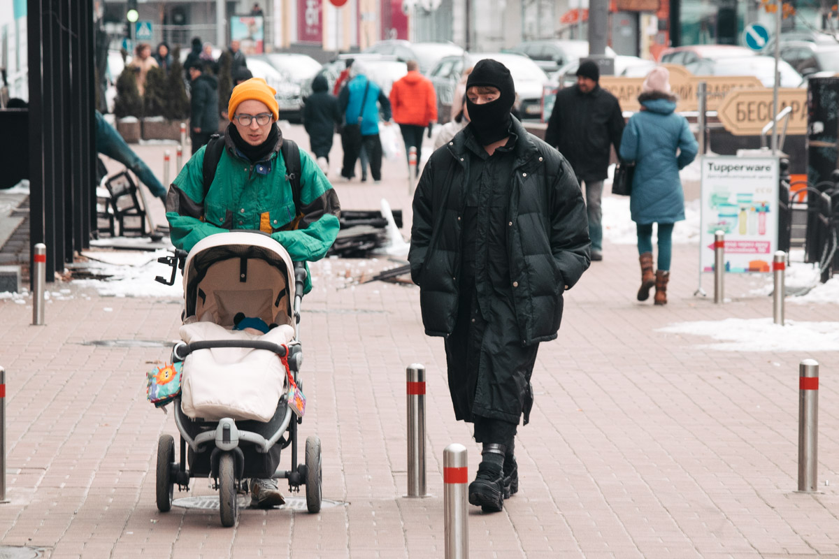 Некоторых людей ранние морозы превращают в настоящих ниндзя