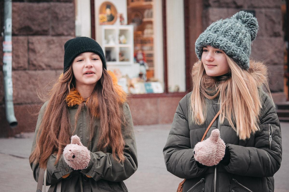 Морозные дни - повод примерить какой-нибудь забавный аксессуар