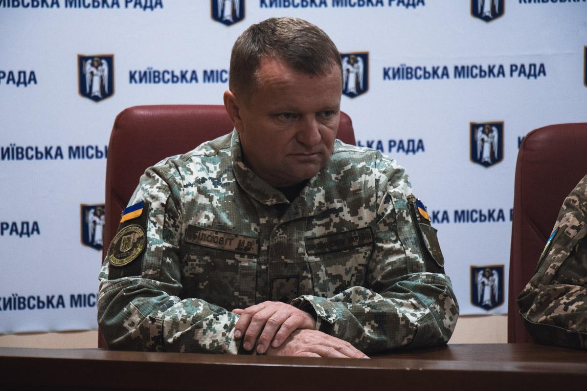 В Киеве за время осеннего призыва явка составила меньше 8%