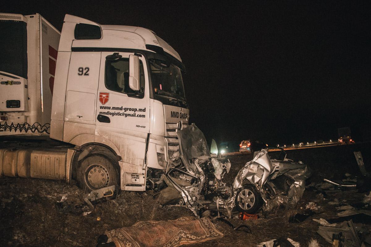27 ноября под Киевом на Броварской окружной произошло смертельное ДТП