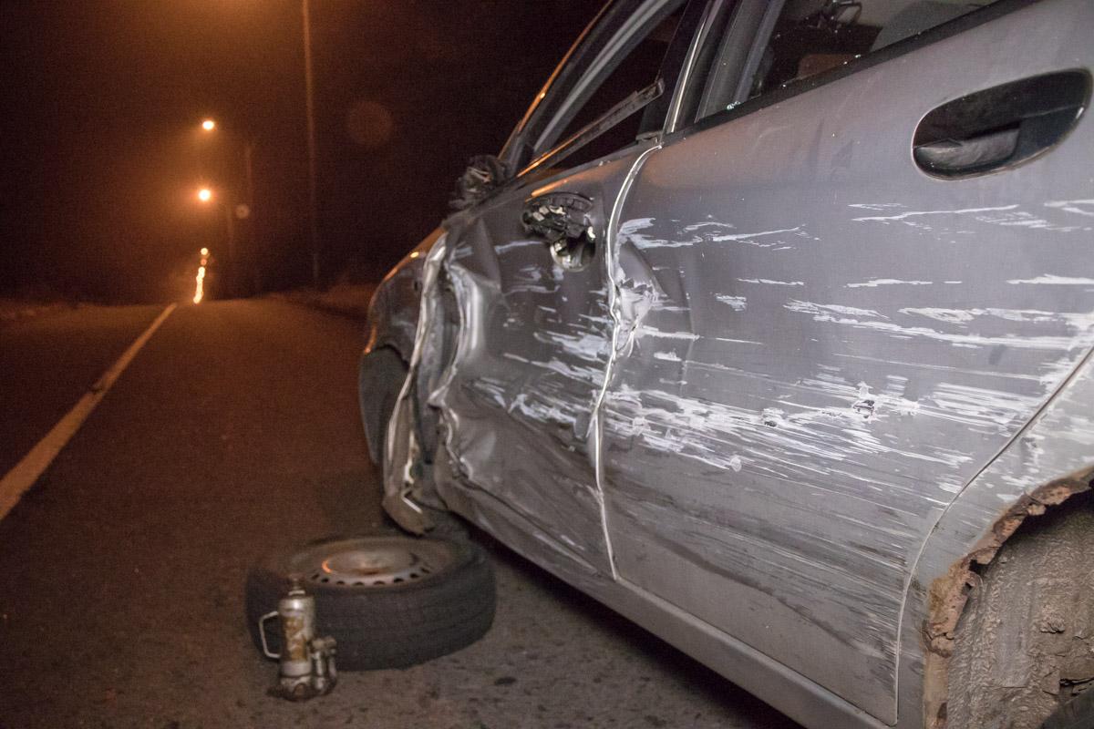 """Водитель """"Таврии"""" пытался уехать с места аварии"""
