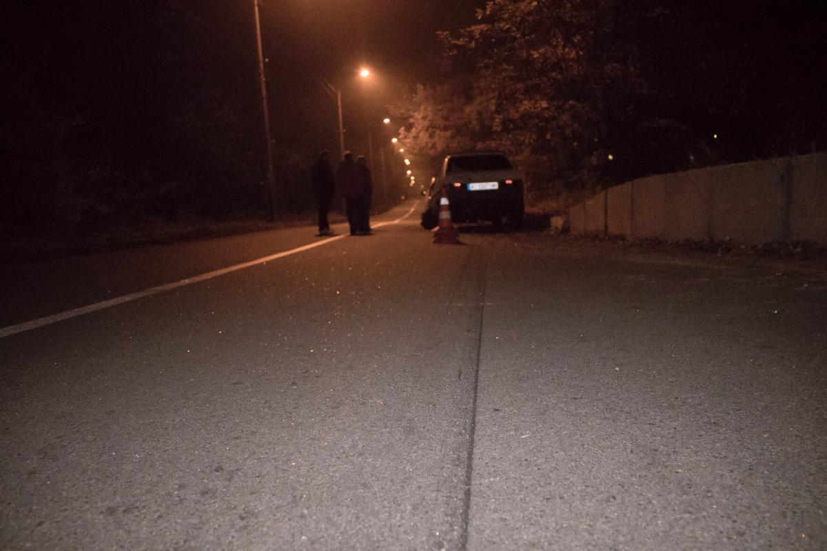 В Пуще-Водице произошло ДТП с пьяным водителем