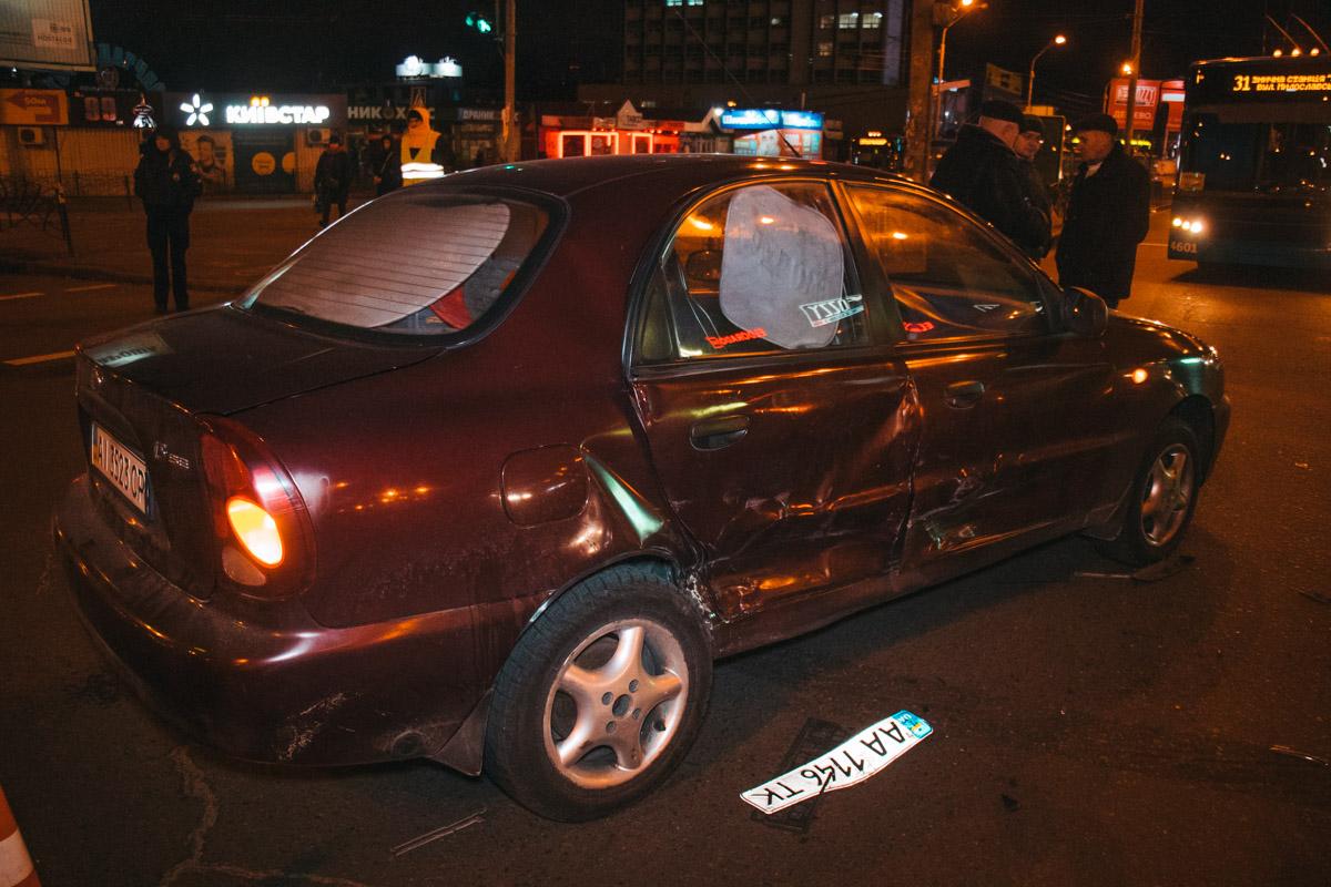 Девушку-пассажира из Lanos госпитализировали в больницу