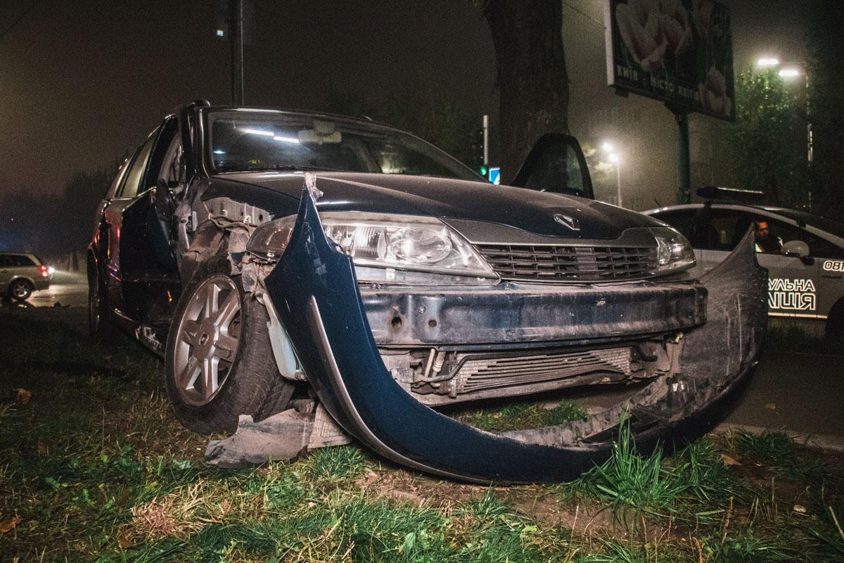 Водитель Citroеn сообщил, что он проезжал на зеленый сигнал светофора