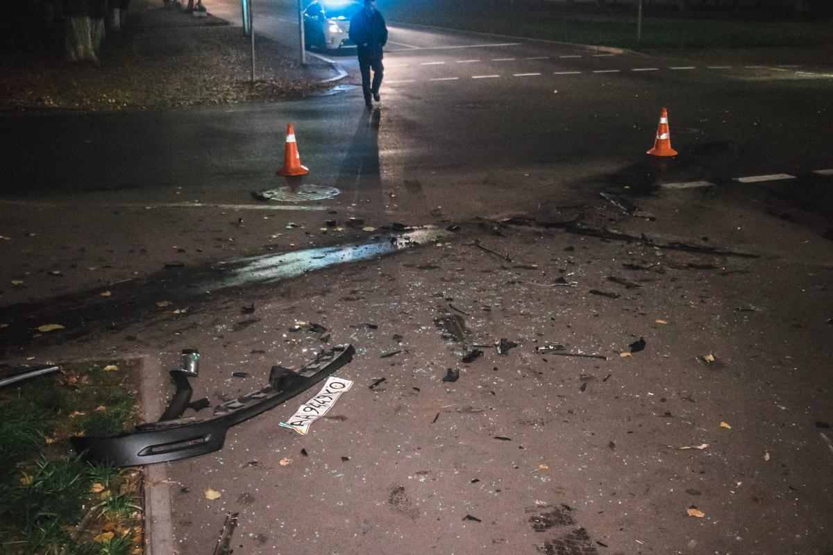 В результате столкновения пострадала жена водителяCitroеn