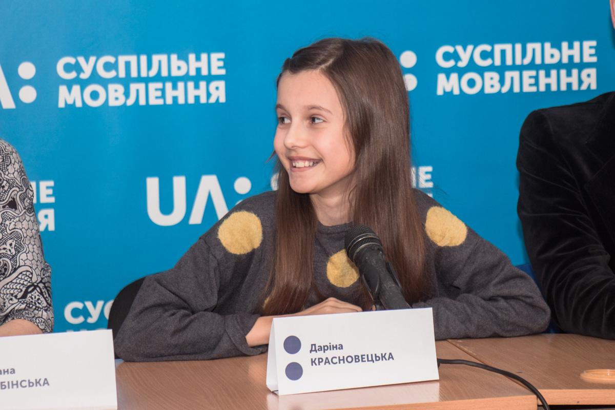 11-летняя Дарина Красновецкая из Винницы выступит на Детском Евровидении