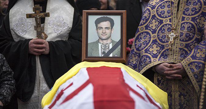Похоронили журналиста только в 2016 году