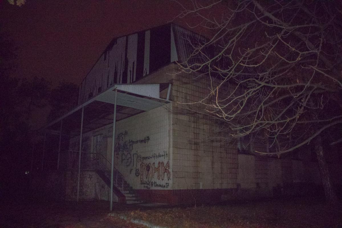 В Киеве горело здание медицинской лаборатории