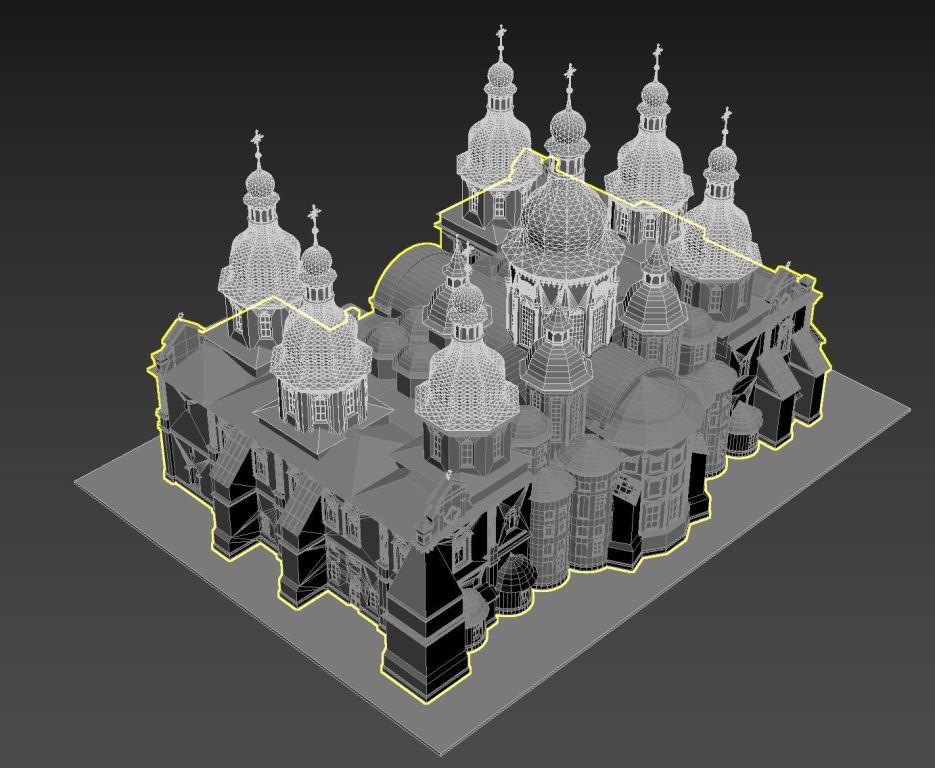 Вскоре у достопримечательностей Киева появятся 3D-копии