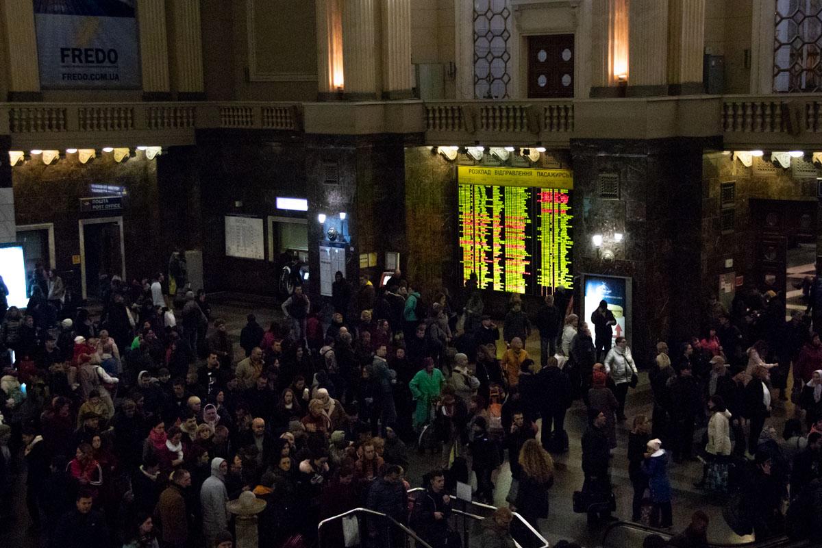 1 ноября в дежурную часть поступило сообщение о минировании вокзала