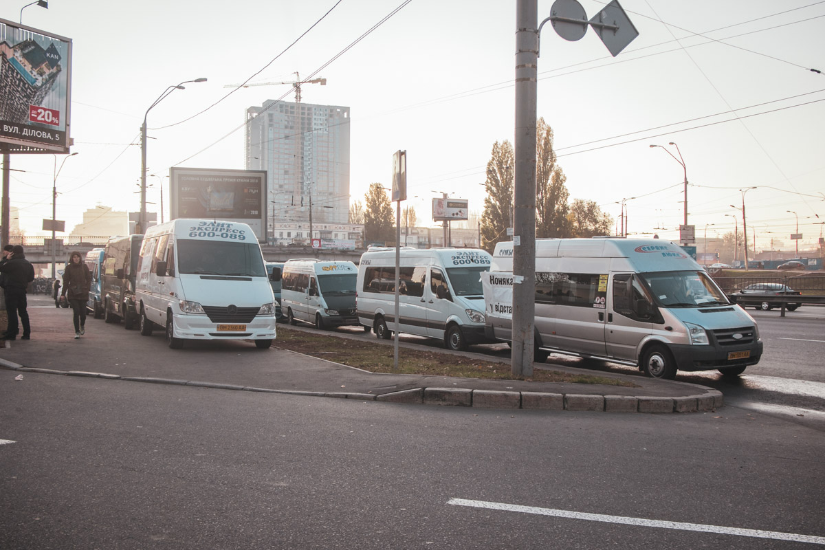 Автобусы ждут справедливости