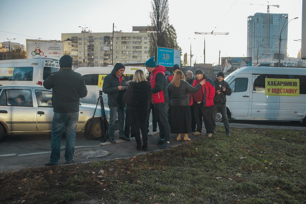 Если власти не пойдут активистам навстречу, они перекроют центральные магистрали города