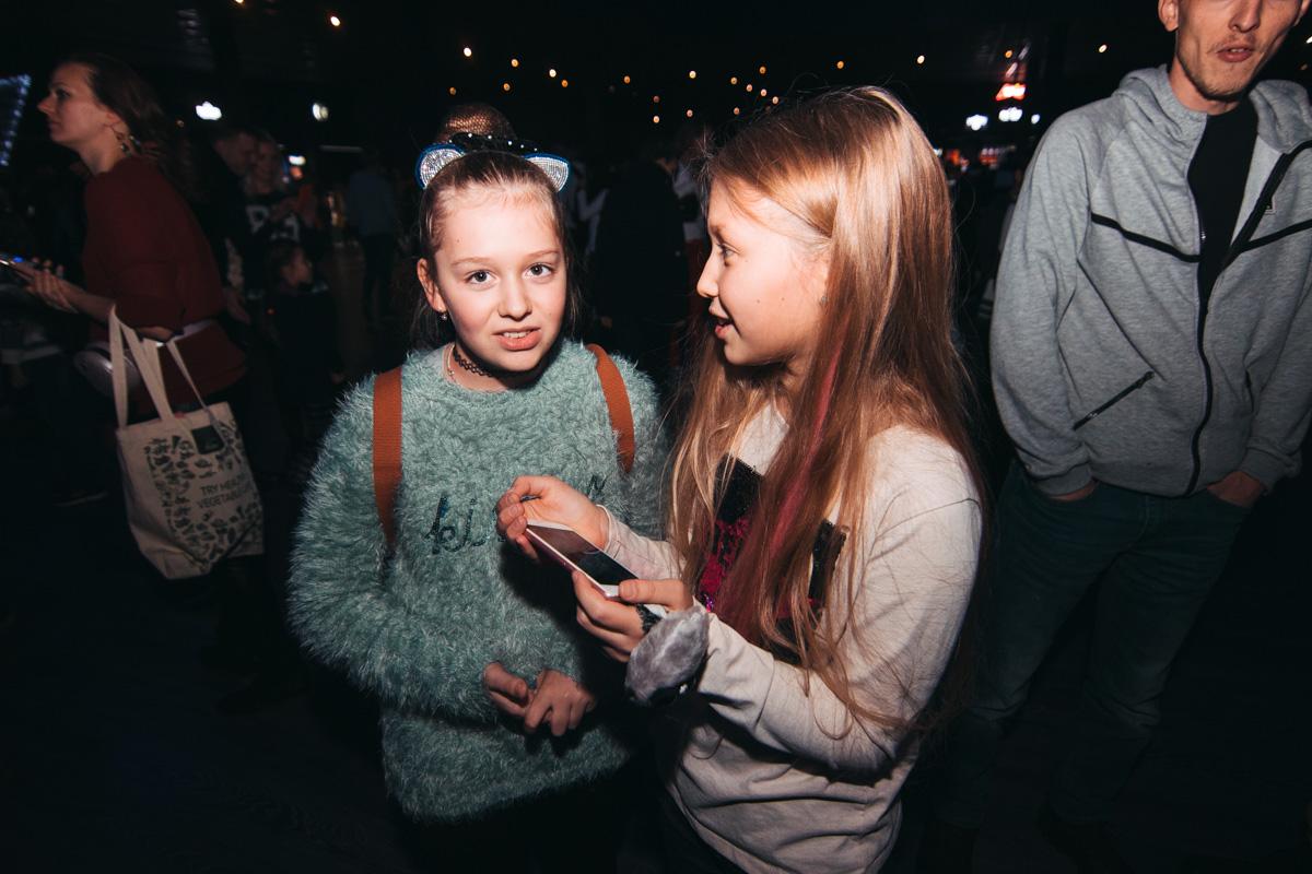 Школьники делились впечатлениями от шоу