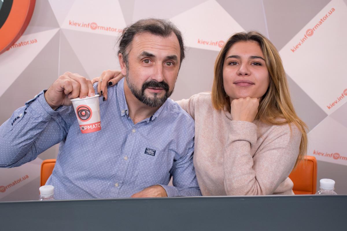 Виталий Любота и Каринэ Гевондян - режиссеры проекта