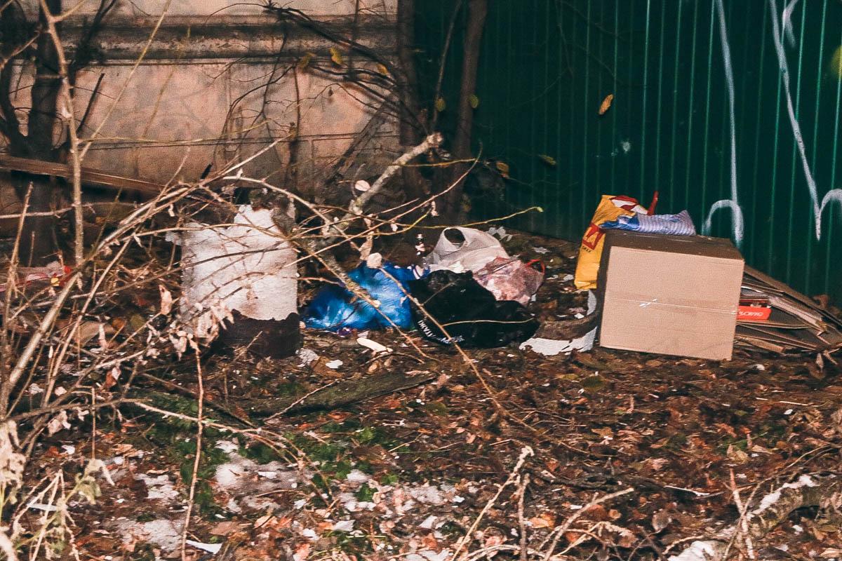 Бездомный развел огонь, чтобы согреться, через какое-то время прогремел взрыв