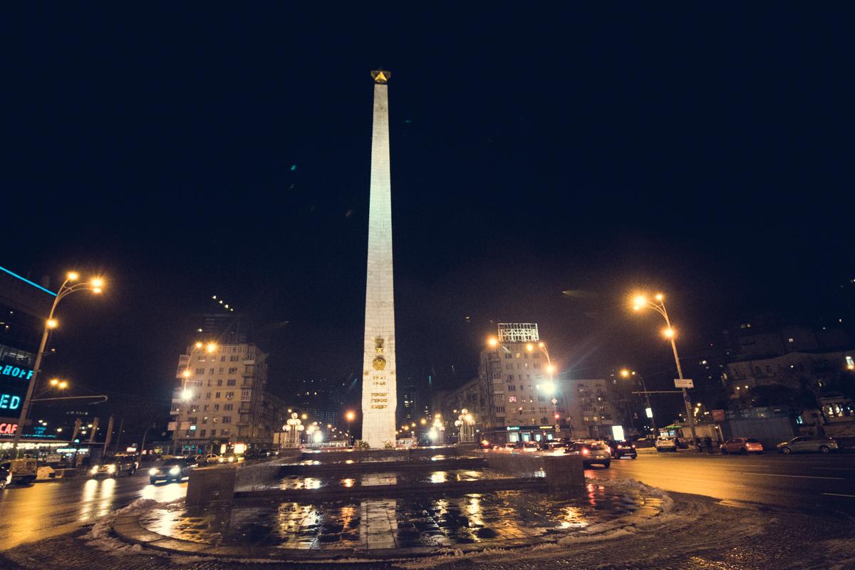 43-метровый монумент узнает каждый, кто бывал тут хоть раз