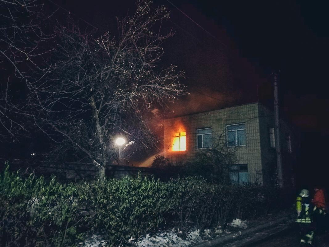 В ночь на 17 ноября в Киеве по адресу улица Оросительная, 5в произошел пожар