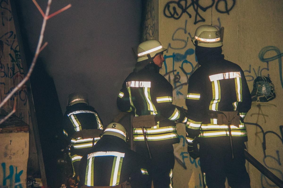 Возгорание привело к полному отключению света в ближайших домах