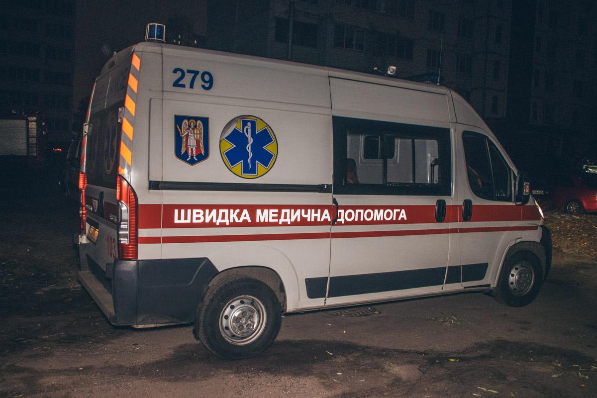 Пожарные и скорая помощь прибыли на место происшествия оперативно