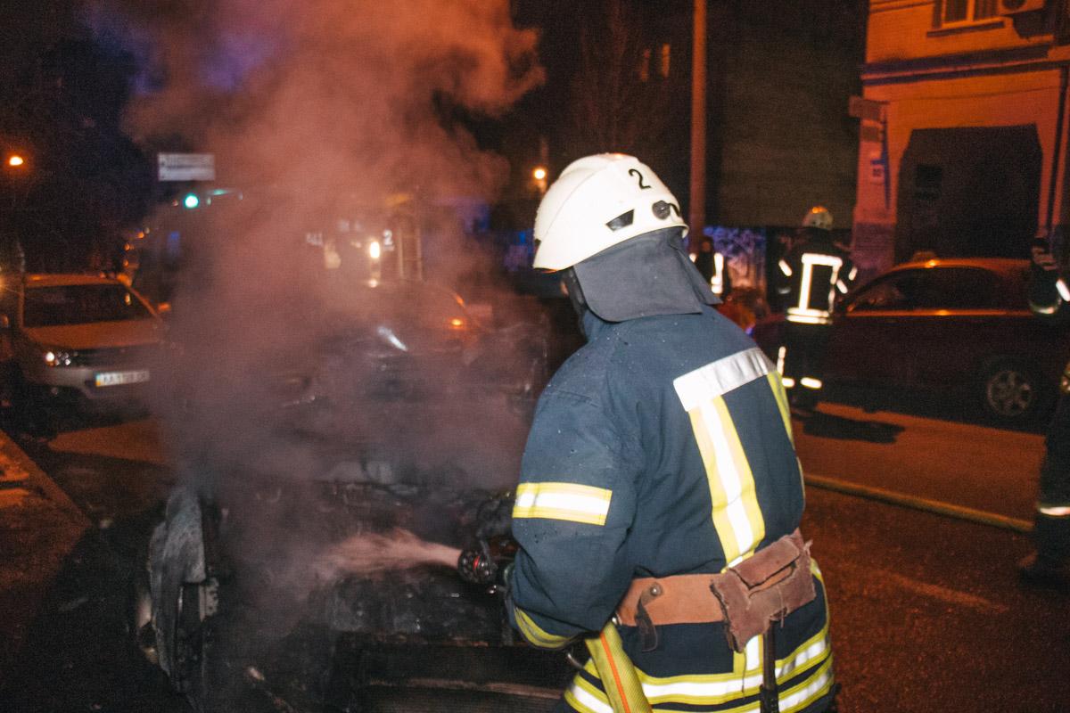Пожарным удалось ликвидировать возгорание за несколько минут