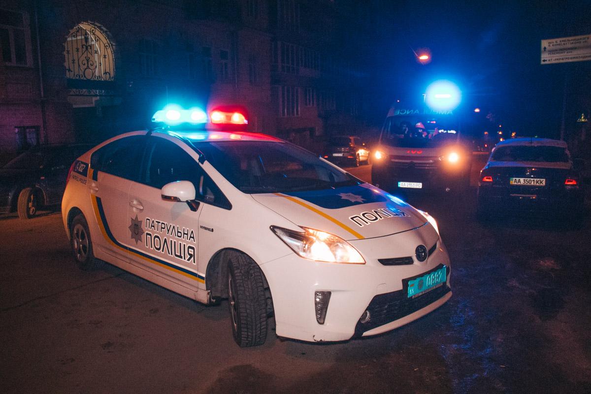 На время работы спасателей движение по Олеся Гончара было ограничено
