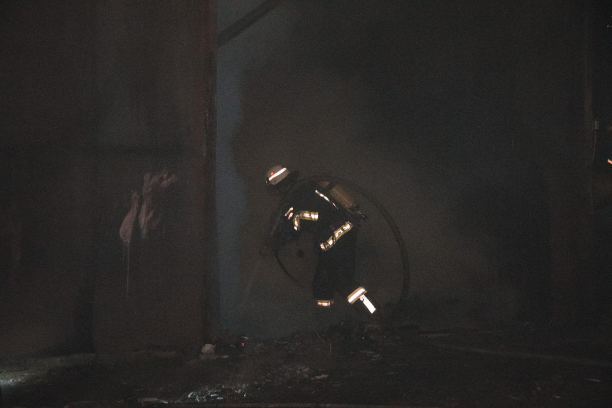 В Киеве в Оболонском районе по адресу улица Коноплянская, 12 случился пожар