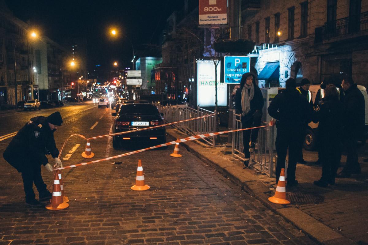 Ночью в Киеве произошла стрельба