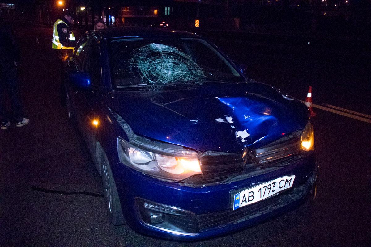 На улице Вадима Гетьмана под Индустриальным мостом произошло смертельное ДТП