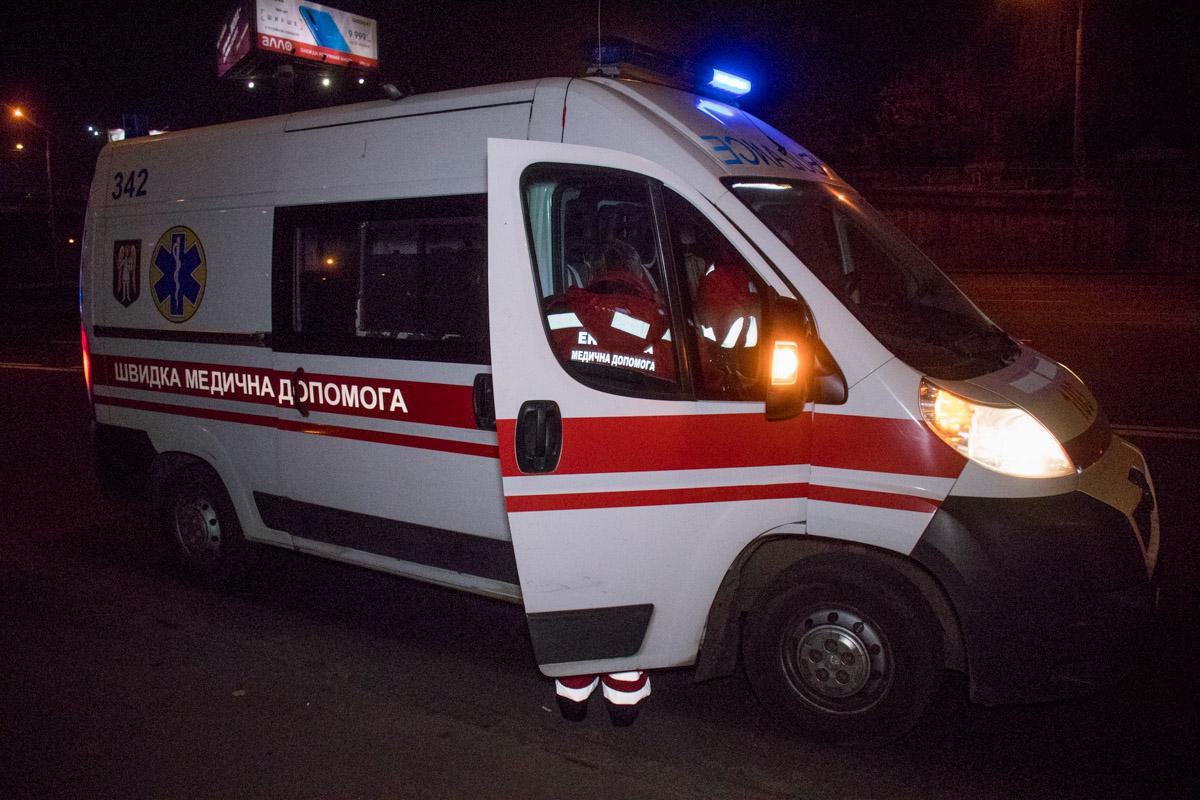 На месте работали медики и полиция