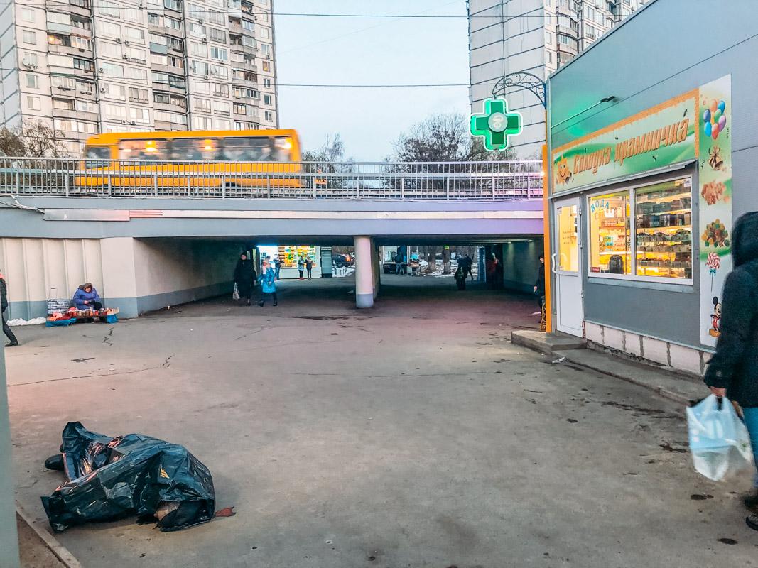В субботу на Борщаговке внезапно умер мужчина