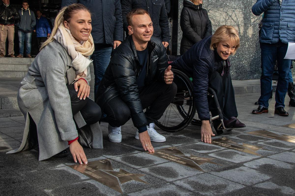 Свои звезды получили Ольга Харлан, Александр Абраменко и Светлана Трифонова