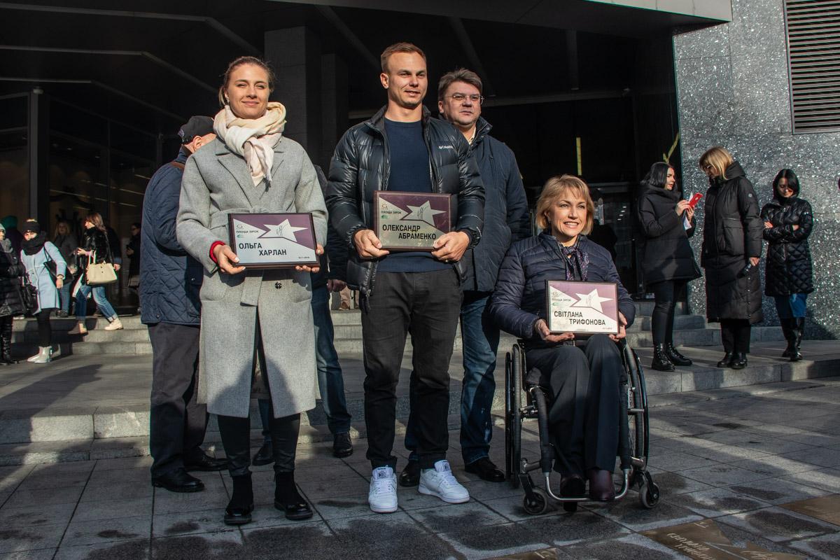 Олимпийские призеры с сертификатами