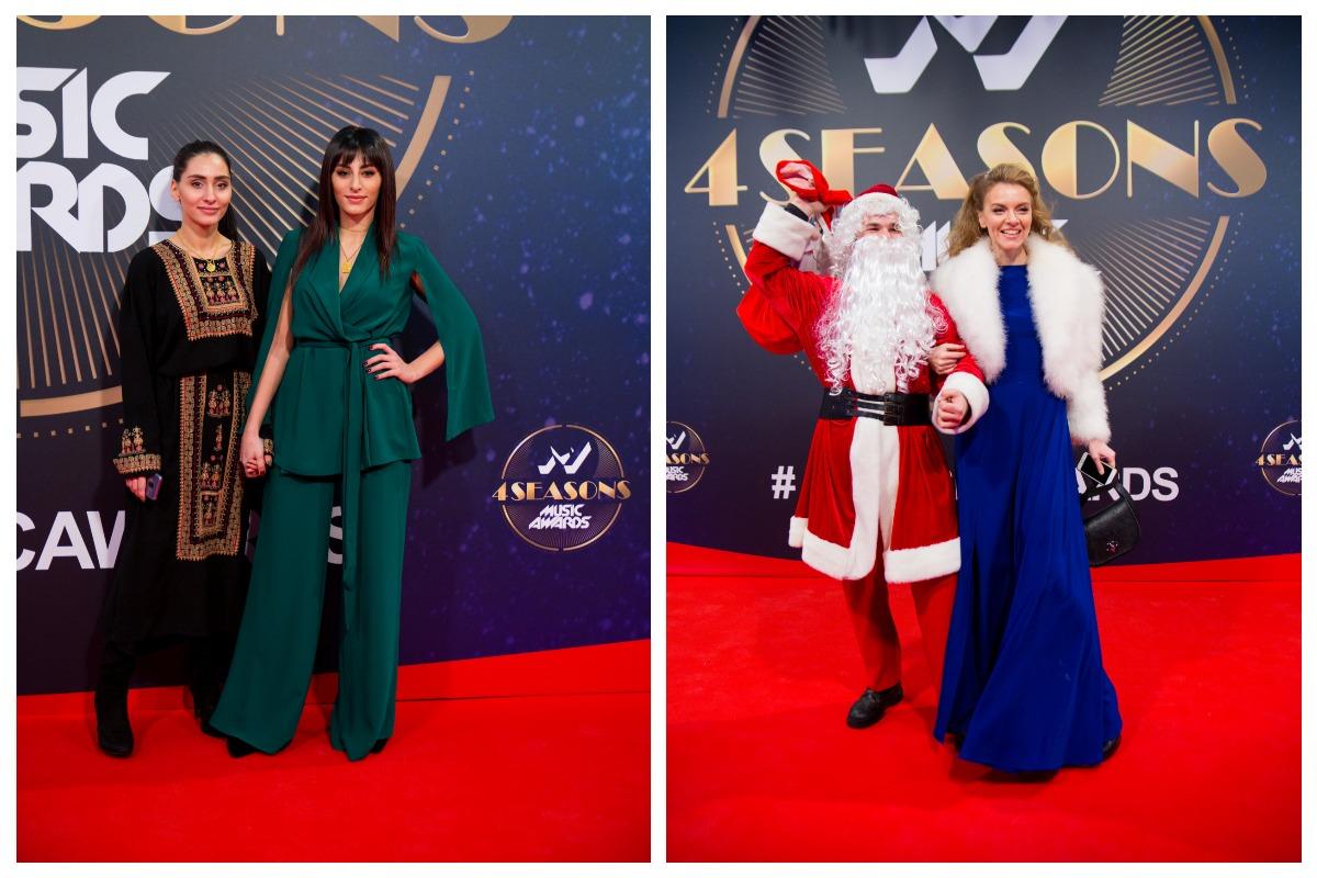 Сестры Лиза и Роза Аль Намри и Диля с Анной Заклецкой
