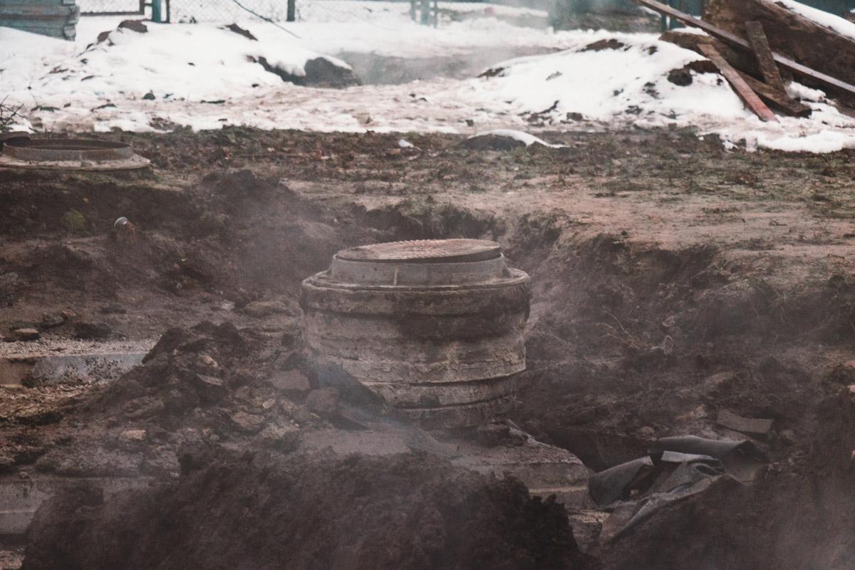 В среду, 5 декабря, в Киеве на Демеевке фактически устранили последствия прорыва