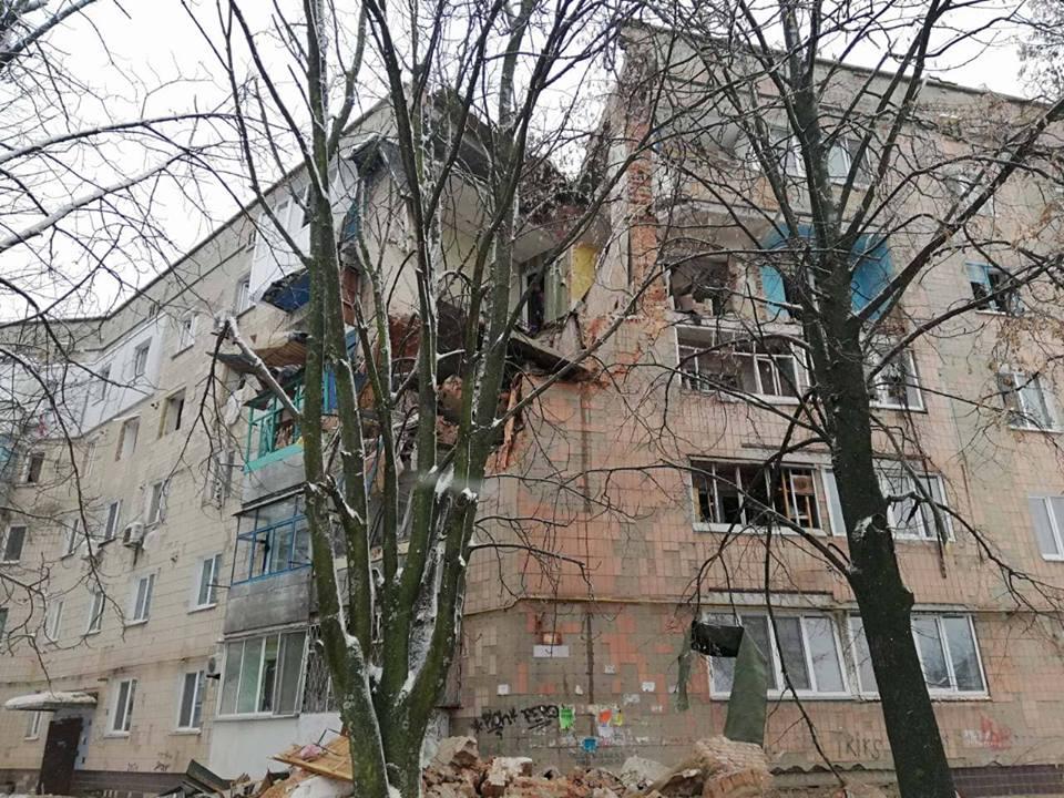 Газ взорвался в 09:20 в Фастове по улице Садовая, 10