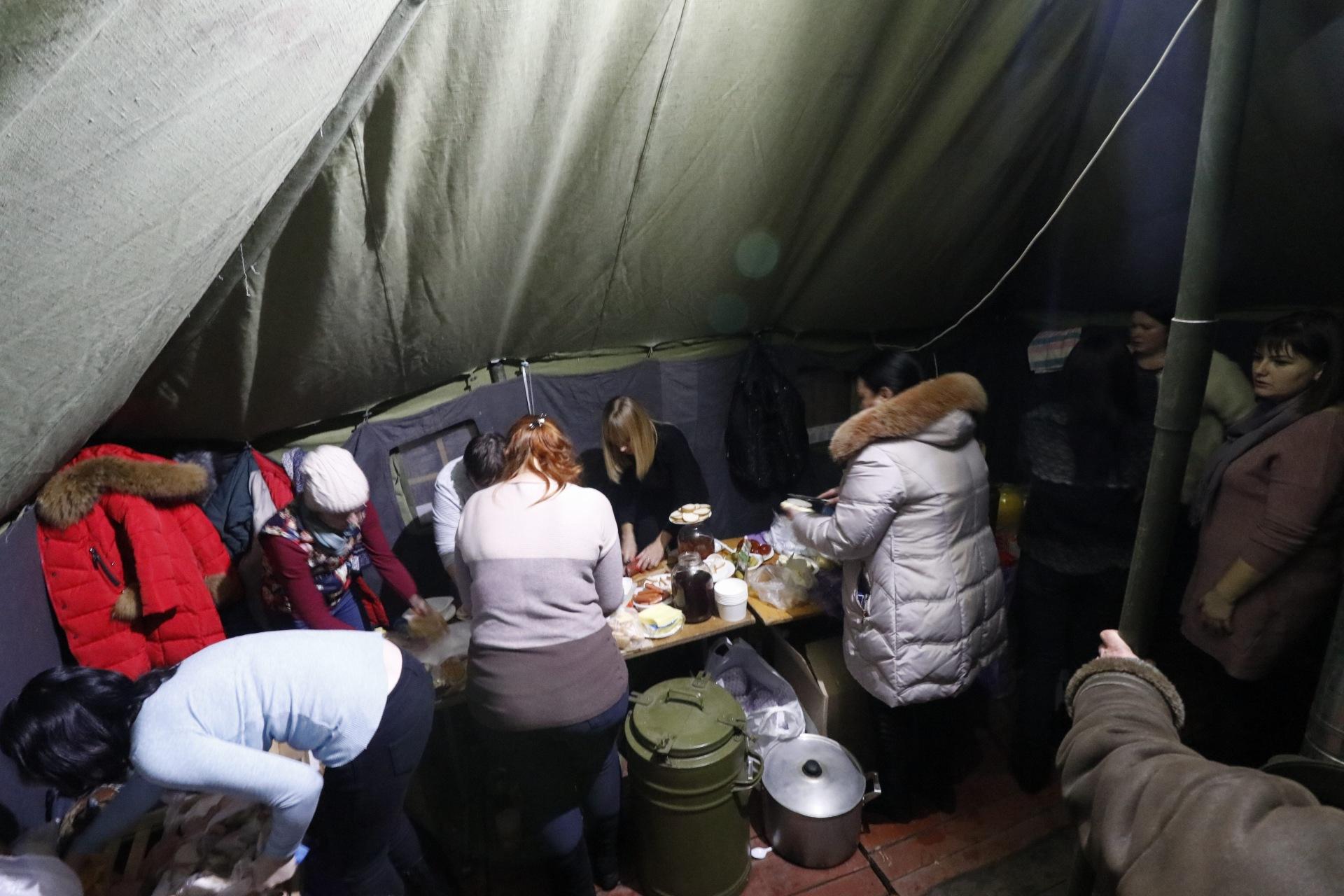 Часть жителей взорвавшегося дома поехала к родственникам или друзьям