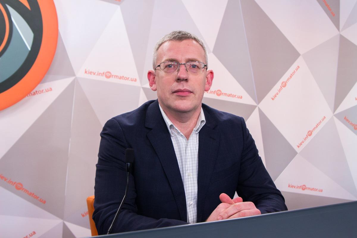 Директор по импорту киевского филиала сети магазинов Alcomag Сергей Сенченко