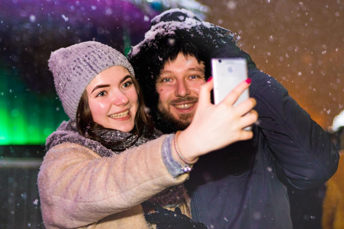 Снег не помешает жителям Киева отметить Рождество