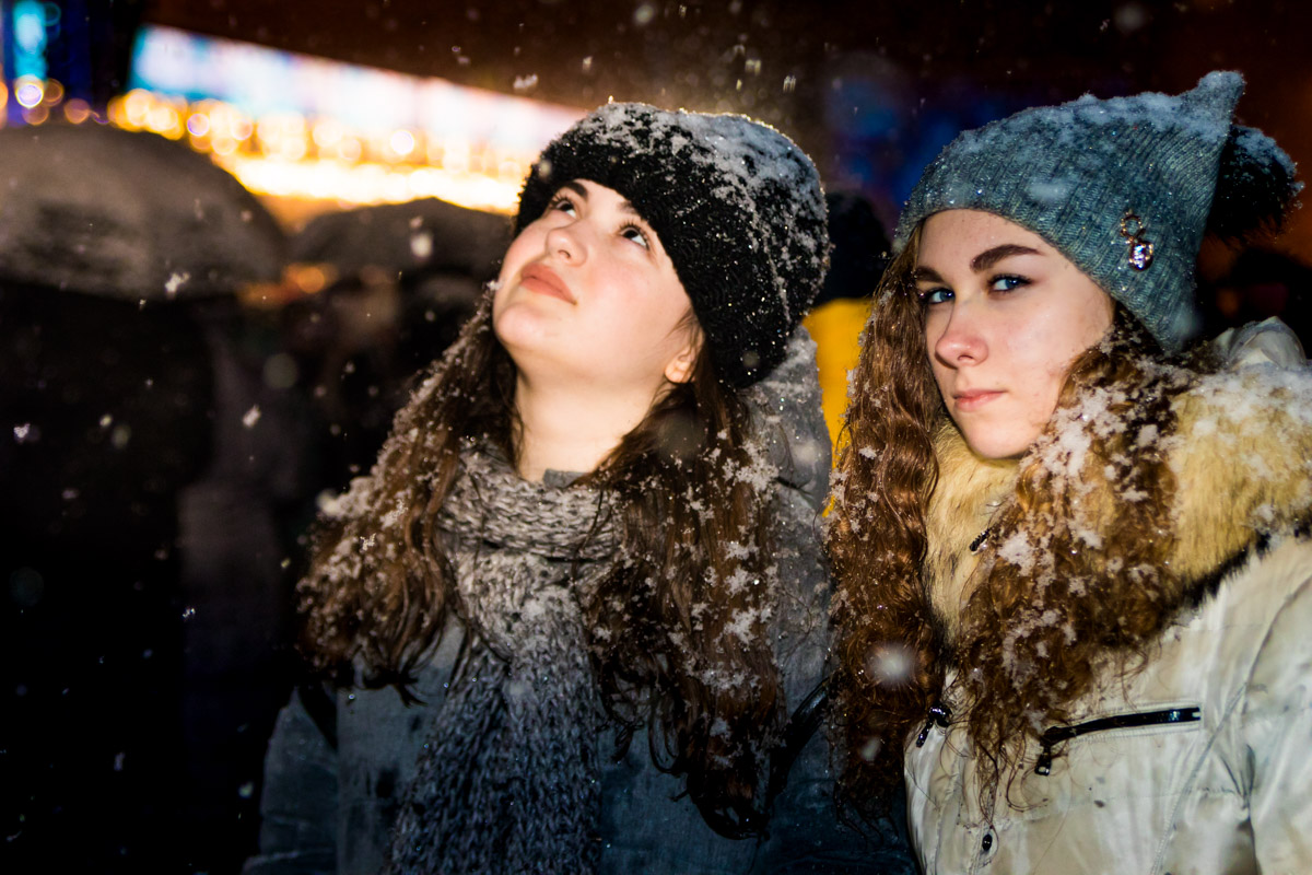 В рождественскую ночь лучше думать только о светлом