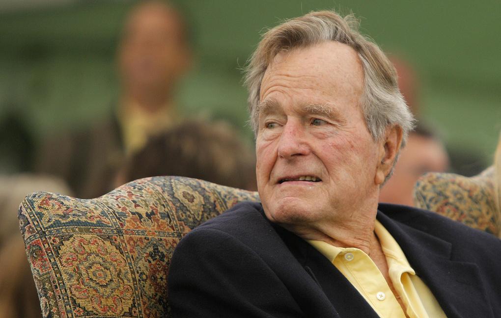 В возрасте 94 лет ушел из жизни Джордж Герберт Уокер Буш - 41-й президент Соединенных Штатов